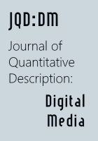 Journal of Quantitative Description: Digital Media