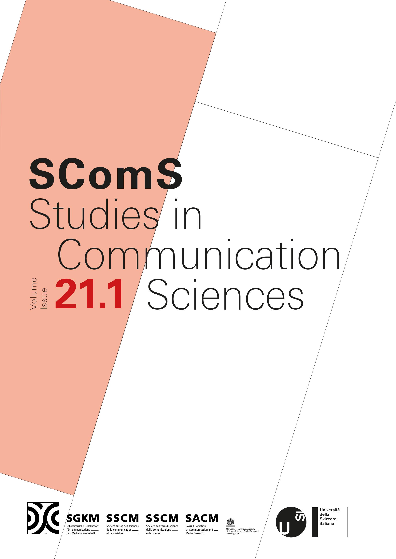 View Vol. 21 No. 1: Studies in Communication Sciences